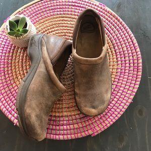 Dansko Kelsey Distressed Leather clog size 41